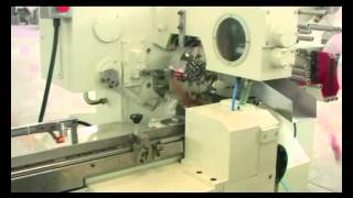 chocolate and candy single twist and double twist packing machine