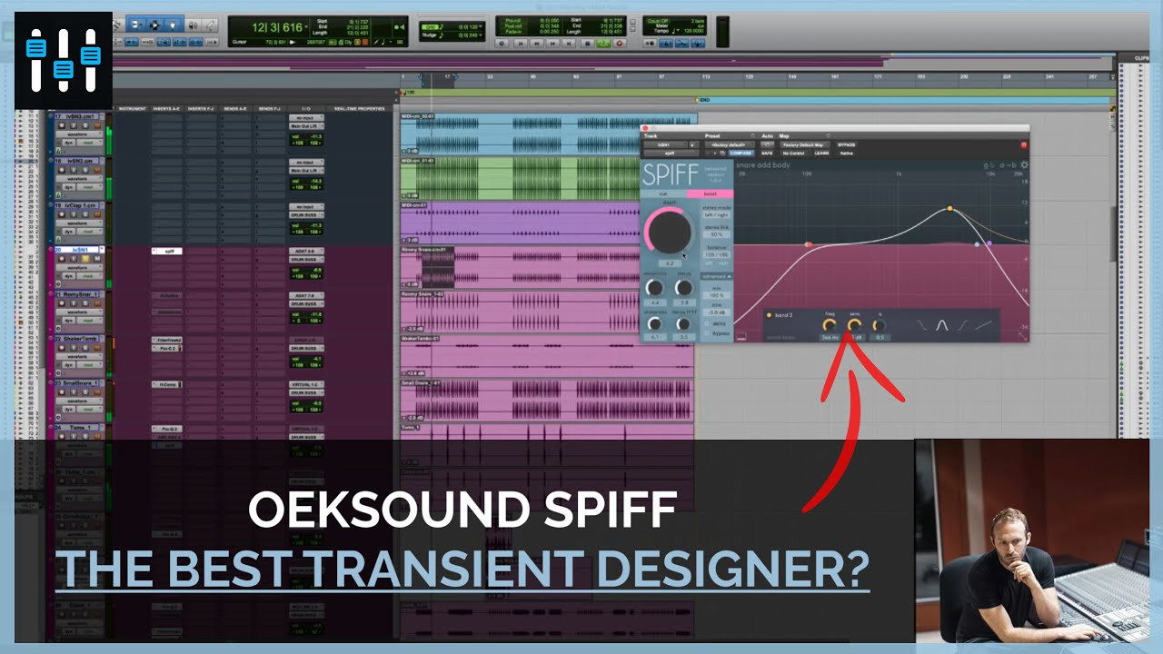 oeksound Spiff: Adaptive Transient Processor [Plugin Review]