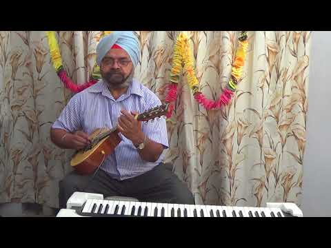 bekarar karke hume yun na jaiye on Mandolin and casio by Inderjit Singh Saini