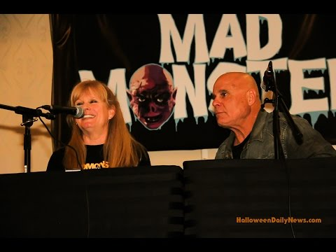 Halloween Q&A Panel, Mad Monster Party 2016