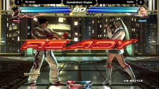 Mr Velvet (Kazuya, Steve) vs Hector (Lili, Asuka)