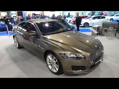 2016 - Jaguar XF 2,0 GTDi Portfolio - Exterior and Interior - Zürich car Show 2015