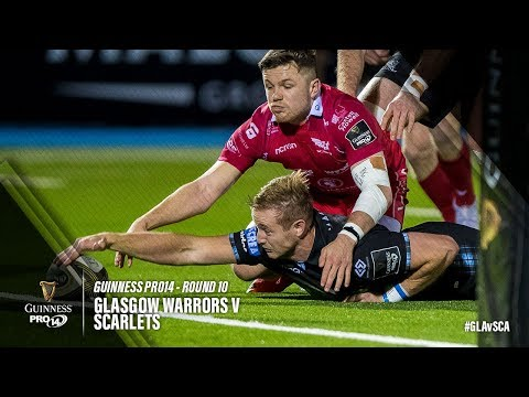 Glasgow Warriors v Scarlets, Guinness Pro 14 2018/19