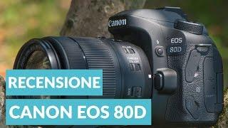 Canon EOS 80D recensione ITA • Ridble