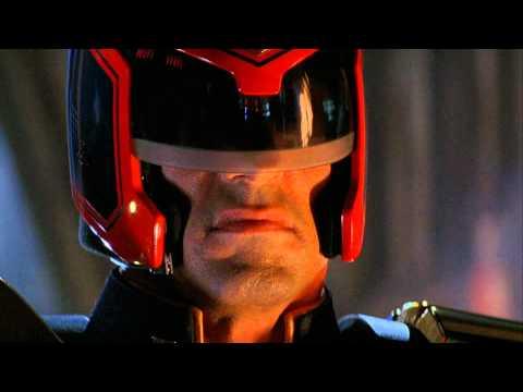 (HD) Judge Dredd - I Am The Law Speech