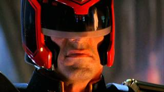 (HD) Judge Dredd - I Am The Law Speech