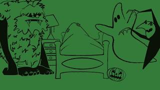 Night of the living bed | Blank Frank | Spooky | Funny | Halloween Children's Short Animation |