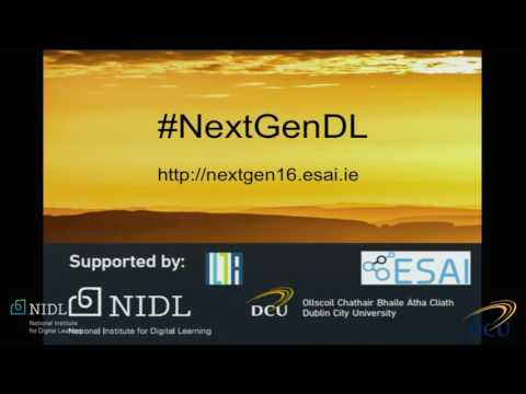 The Next Generation: Digital Learning Research Symposium 2016