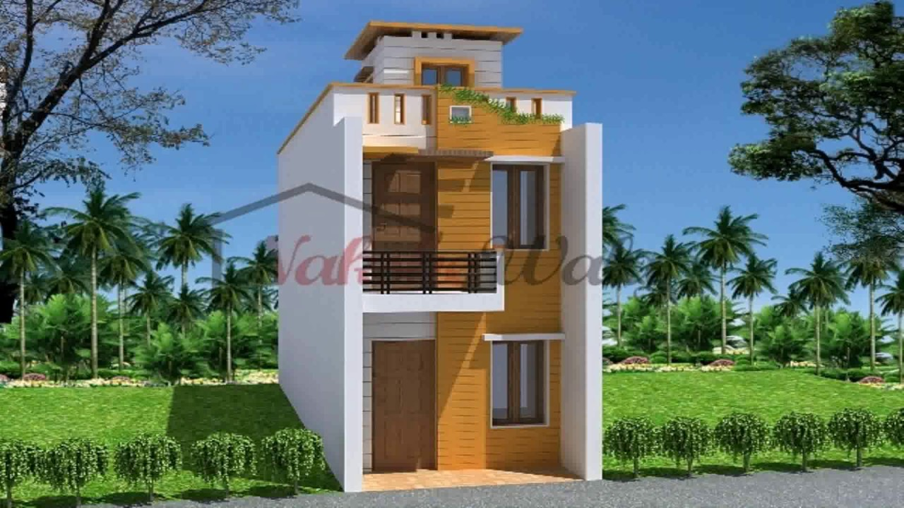 Front Elevation Of Your House : House plans front elevation india youtube
