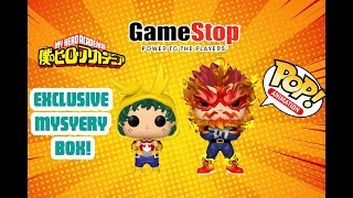 My Hero Academia Gamestop Exclusive Funko Pop Box Unboxing