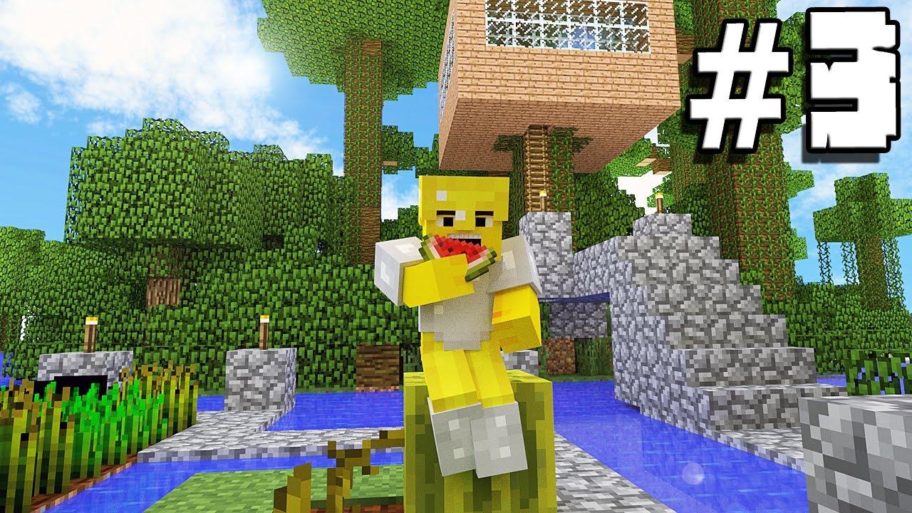 Casa sull 39 albero e trovo diamanti 3 minecraft gameplay ita youtube - Casa sull albero minecraft ...