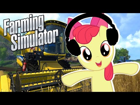 Apple bloom Plays Farming Simulator  