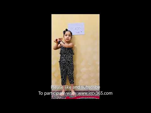 poem on lockdown by a cute and little girl