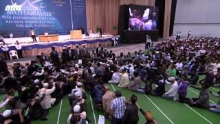 2013-06-30 Bait-Zeremonie mit dem Kalifen (aba) auf der Jalsa Salana 2012
