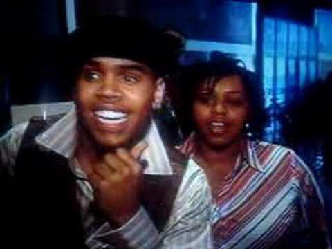Chris Brown and his sister Making of Gimmie That