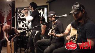 Hinder - Get Stoned acoustic at WEBN