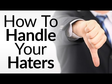 How To Deal With Criticism   10 Tips To Handle Haters   Defuse Negativity Online aka Trolls