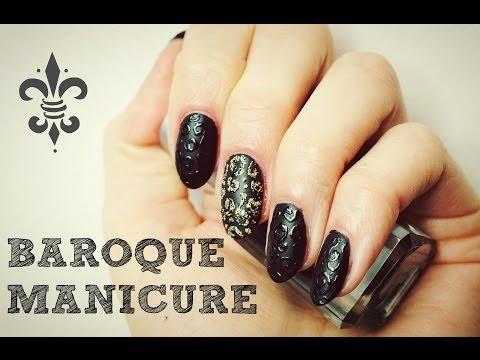 Baroque Manicure - Nail Art