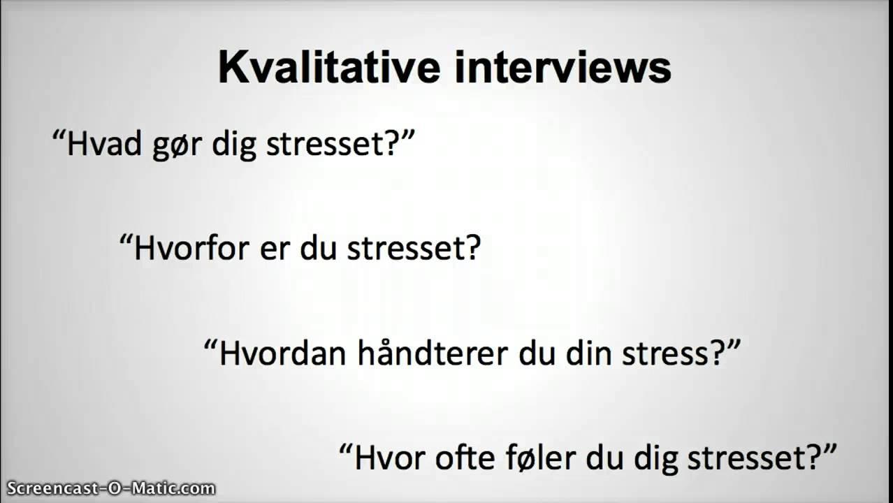 stress psykologi