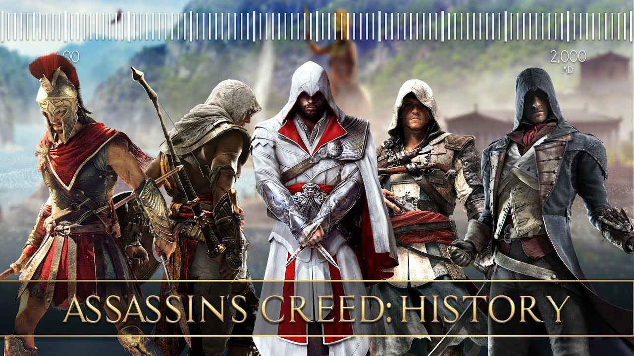 Assassin S Creed History Timeline Chronological Order Youtube