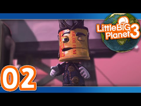 Little Big Planet 3: Part 02 (4-Player)