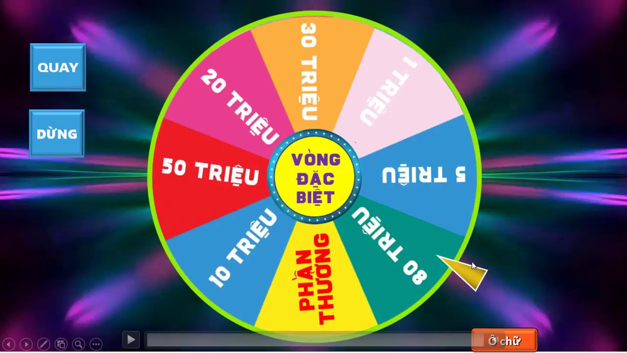 GAME CHIEC NON KI DIEU 2017 POWERPOINT-wheel of fortune game
