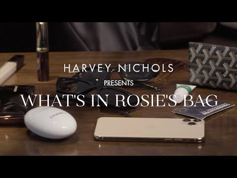 What's In Rosie Huntington-Whiteley's Bag?