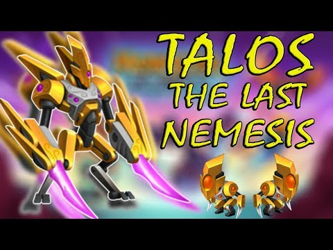 Monster Legends | Talos the Forgotten Artifact | Talos the Island Protector | Talos the Automaton