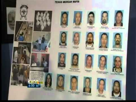 Crackdown comes for Texas Mexican Mafia - 6 pm News