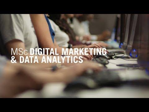 MSc Digital Marketing and Data Analytics
