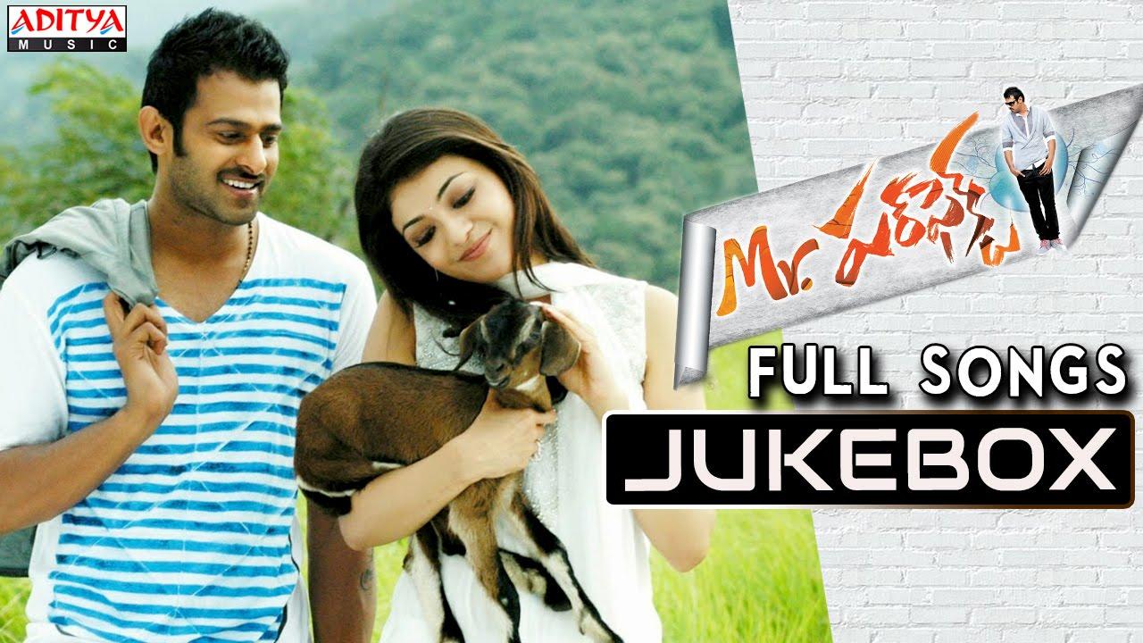 Mr Perfect Telugu Movie Songs Jukebox || Prabhas, Kajal ...