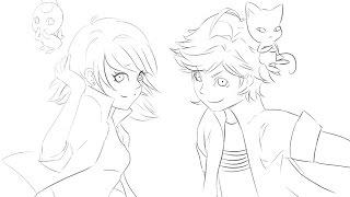 ''Akuma!'' Part 3 / Bölüm 3 Miraculous Ladybug Comic / Çizgi Roman