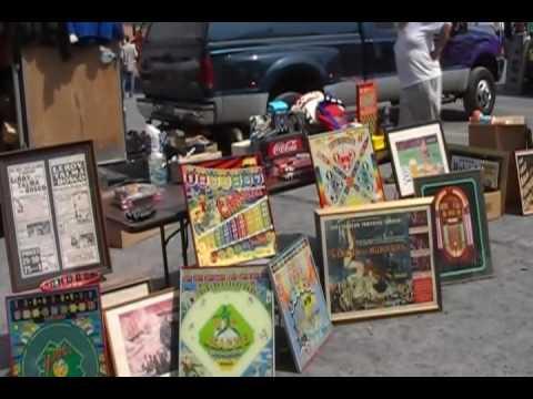 Allentown Pinball Wizards Convention - Flea Market 2010 Video Tour - 2/2