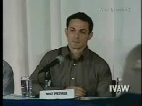 Mike Prysner Testimony Part 2