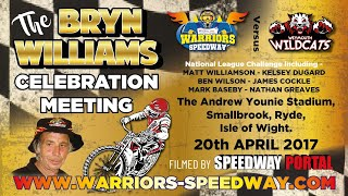 Bryn Williams Celebration : 'Warriors' vs 'Wildcats' : Challenge : 20/04/2017