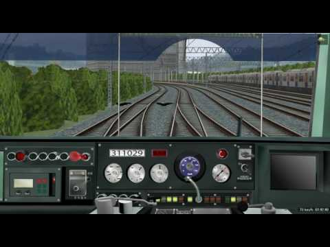 Train simulator BVE5 South Korea Cheonan Express Subway Line 1/ 서울역~천안역 급행(1호선)