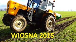 WIOSNA 2015 - WTOPY, NAWOZY, SIEWY \ JOHN DEERE & 3p