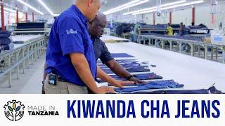 #MadeinTanzania Kiwanda Kinachotengeneza Jeans kwa Ubora wa Kimataifa na kuuza Nchini Marekani