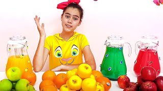 Nastya and Artem - story about the harmful sweets