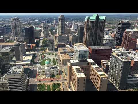 View From  Atop The St. Louis Gateway Arch