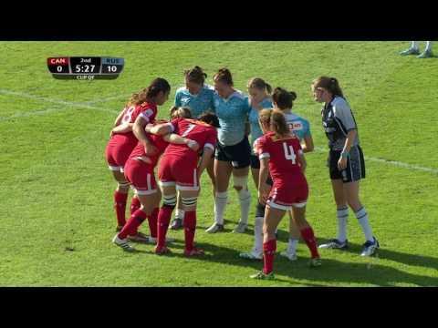 Womens 7s Dubai 2016 Russia vs Canada