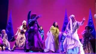 Мюзикл Disney «Аладдин» в Петербурге-фрагмент(1)