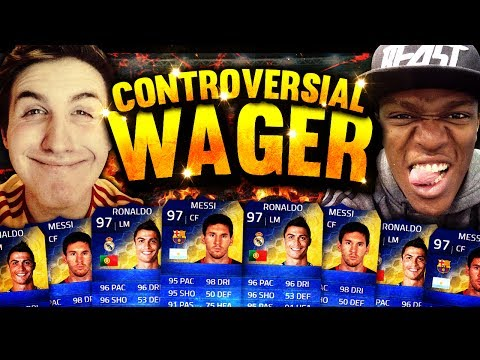 MOST CONTROVERSIAL WAGER!!! (FIFA 14)