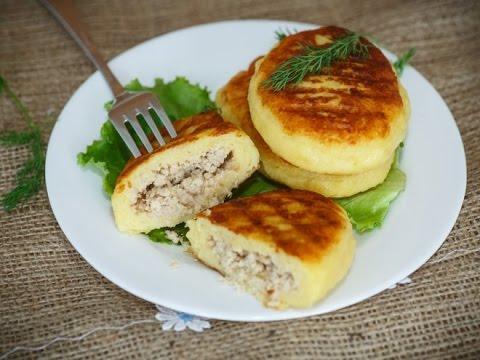 Рецепт приготовления зразов картофельных с мясом