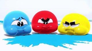 Funny Squishy Balls | WonderBalls Episode #1 to #5 | Cartoon Candy