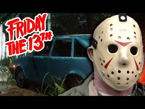 CLOSE CAR ESCAPE! - Friday the 13th Game (Funny Moments) #3 - 동영상
