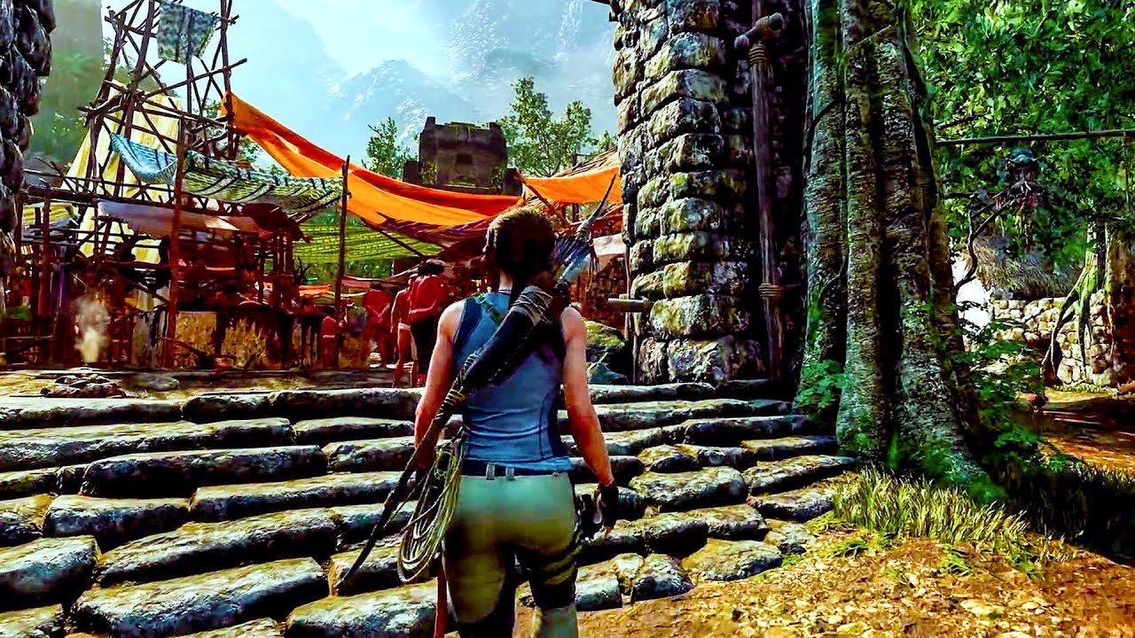 Shadow Of The Tomb Raider 30 Minutes Of Gameplay Ps4 Xbox One Pc Developer Walkthrough 2018 Youtube