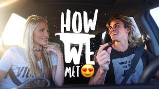 how we met   cole savannah