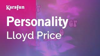 Karaoke Personality (You