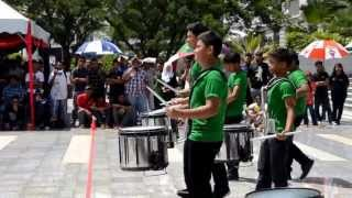 Batteryheadz Percussions vs. Vemix Percussions, PYF 2013 Drum Battle Competition Final